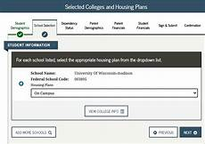 housing plan fafsa filling out the 2021 2022 fafsa financial design studio