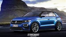 Does This Vw T Roc R Rendering Look Enough