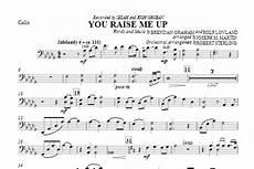you raise me up cello sheet music by joseph martin choral instrumental pak 310482