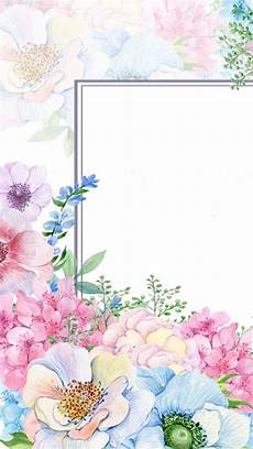 flower border wallpaper pretty j backgrounds borders and frames in 2019