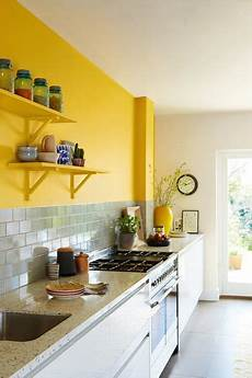 give your kitchen some flavour with a dollop of yellow honey mustard above your countertop