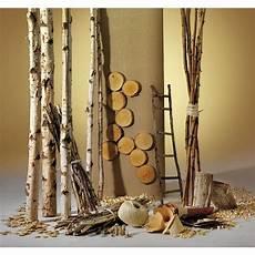 dekorieren mit holz deko dekoidee birkenholz dekoration bei dekowoerner