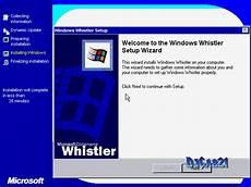 Installer Windows Whistler Xp Beta 1 With Link