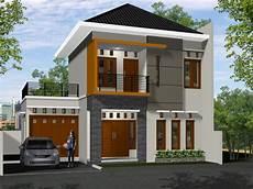 Gambar Kombinasi Warna Cat Rumah 2 Lantai Informasi