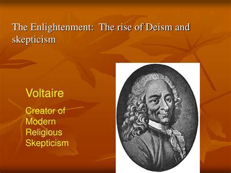 Voltaire Deism