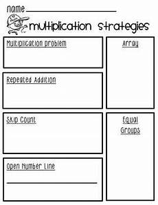 multiplication strategy worksheets grade 3 4815 multiplication strategies worksheet flipbook visuals times table with guides 3rd grade math