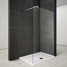 Duschwand Glas Walk In - walk in duschabtrennung duschwand 8mm nano glas 120x200cm