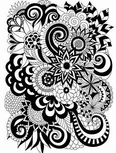 15 crazy busy coloring pages for adults page 8 of 16