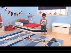 lit bateau pour tout petits kidkraft 76253 meubles pour