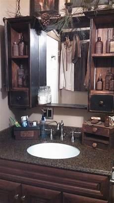 primitive country bathroom ideas this medicine cabinet bath primitive bathrooms