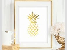 Pineapple dorm decor   Etsy