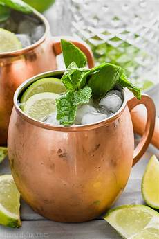 moscow mule with gin gin gin mule wine and glue