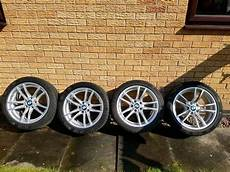 bmw m2 m3 m4 640m alloys with continental winter tyres in leicester forest east