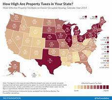 how high are property taxes in your state 2016 tax