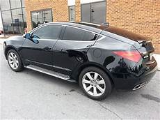 sell used black acura zdx tech package painted grill tinted windows led running boards in