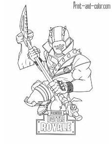 Malvorlagen Fortnite Io Fortnite Cool Coloring Pages Coloring Pages For Boys