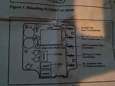 heat relay wire diagram i am trouble wiring a rly02807 time delay relay on a trane heat with electric aux
