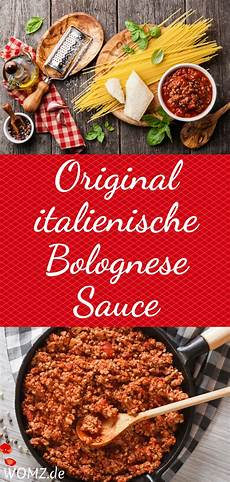 Original Italienische Bolognese Sauce Rezept Rezept