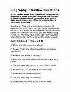 free 13 biography worksheet templates in pdf word