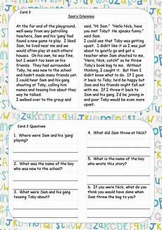 poetry comprehension worksheets ks2 25258 ks1 ks2 sen ipc reading comprehension cards guided reading writing spelling