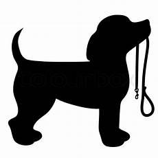 Malvorlage Silhouette Hund Stock Vektor 16 Mio Bilder Hohe Qualit 228 T F 252 Rs Web Und
