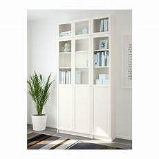 ikea billy oxberg white glass bookcase billy oxberg