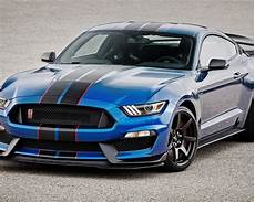 Wallpaper Mustang Blue Car by Wallpaper Shelby Ford Mustang Gt350r Blue Car Front View