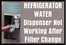 Kitchenaid Refrigerator Troubleshooting Water Dispenser by Refrigerator Water Dispenser Not Working After Filter