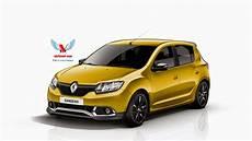 Dacia Sandero Rs Wearing Renault Badges Rendered