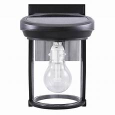 gama sonic solar coach 1 light black outdoor wall lantern sconce gs 1b b the home depot