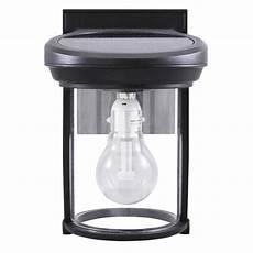 gama sonic solar coach 1 light black outdoor wall lantern gs 1b b the home depot