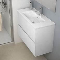meuble vasque salle de bain profondeur meuble salle de bain 80x36 cm blanc faible profondeur