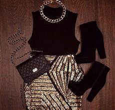 stehle gold schwarz skirt gold black necklace boots fall