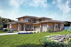 modern 4 bed house plan with indoor outdoor living spaces 23774jd architectural designs