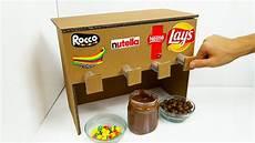machine a chocolat how to make chocolate machine from cardboard
