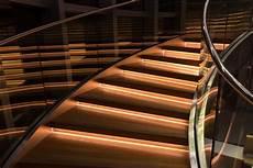 free stock photo of glass handrail illuminated