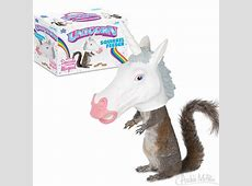 Unicorn Squirrel Feeder   Archie McPhee & Co.