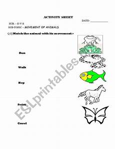 animal movement worksheets 13953 worksheets movement of animals