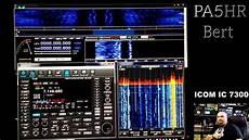 rs ba1 software rs ba1 with icom ic 7300 youtube