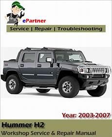 car manuals free online 2003 hummer h2 parking system contact us automotive service repair manual