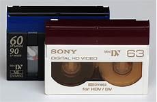 hdv cassette dv and hdv