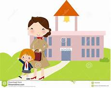 first day go to school royalty free stock image image 12024536