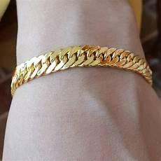 jual gelang rantai double lapis emas kuning 24k 9js5 di lapak yafiz galeryfash