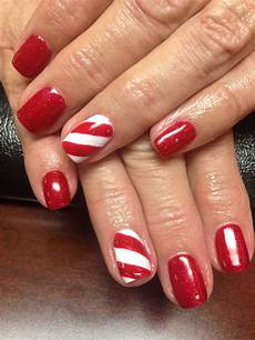 candy cane nails candy cane nails dipped nails