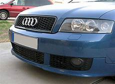 audi a4 s4 b6 euro rs4 front sport honeycomb grill s line black rings 02 05 ebay