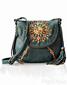 Lucky Bags Mobile Phone Accessories by Lucky Brand Casbah Embrodiery Cross Bag Bags Black