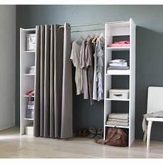 Alternative Zum Kleiderschrank - auch gut 2 regale 2 stangen 1 vorhang for the home