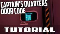subnautica captain s quarters door code tutorial pc