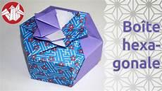origami bo 238 te hexagonale de tomoko fuse hexagonal box
