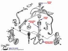 1986 corvette engine diagram 1986 corvette power antenna parts parts accessories for corvettes